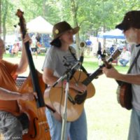 Wolf Creek Rising at the 2018 Blissfield Bluegrass on the River - photo © Bill Warren