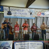 Red, White, and Bluegrass at the 2018 Blissfield Bluegrass on the River - photo © Bill Warren