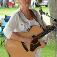 Candy Miller at the 2018 Blissfield Bluegrass on the River - photo © Bill Warren