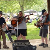 The JAM Band at the 2018 Blissfield Bluegrass on the River - photo © Bill Warren