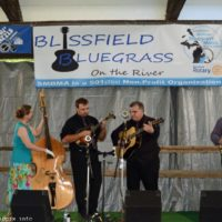 One Accord at the 2018 Blissfield Bluegrass on the River - photo © Bill Warren