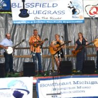 Detour at the 2018 Blissfield Bluegrass on the River - photo © Bill Warren