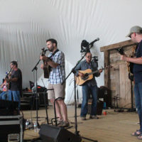 Harwell Grice Band at FloydFest 2018 - photo by Teresa Gereaux