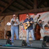 Highland Travelers at the 2018Gettysburg Bluegrass Festival - photo by Frank Baker