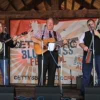 Russell Moore & IIIrd Tyme Out at the August 2018 Gettysburg Bluegrass Festival - photo by Frank Baker