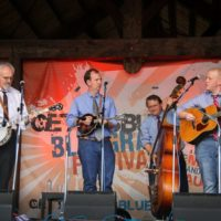 Terry Baucom & The Dukes of Drive at the August 2018 Gettysburg Bluegrass Festival - photo by Frank Baker