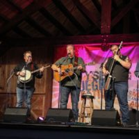 Russel Moore & IIIrd Tyme Out at the August 2018 Gettysburg Bluegrass Festival - photo by Frank Baker
