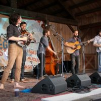 The Lonely Heartstring Band at the 2018Gettysburg Bluegrass Festival - photo by Frank Baker
