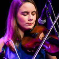 Laura Carravick with Midnight Skyracer at the 2018 World of Bluegrass (9/26/18) - photo © Frank Baker