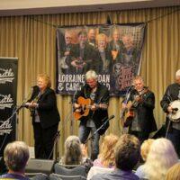 Lorraine Jordan & Carolina Road at the Trust Fund Benefit concert (9/24/18) - photo © Frank Baker