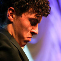 Jonah Horton with The Trailblazers at the 2018 World of Bluegrass (9/26/18) - photo © Frank Baker