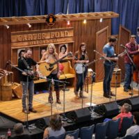 Amanda Cook showcases at World of Bluegrass (9/25/18) - photo © Frank Baker