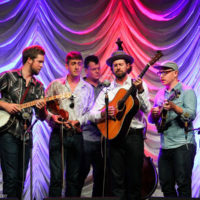 Man About A Horse at the 2018 World of Bluegrass (9/26/18) - photo © Frank Baker