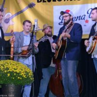 Mike Mitchell Band at the 2018 Nothin' Fancy Bluegrass Festival - photo © Bill Warren