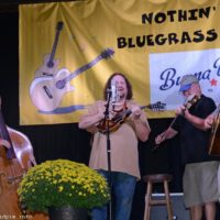 Half New Grass Revival at the 2018 Nothin' Fancy Bluegrass Festival - photo © Bill Warren