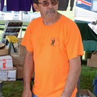 Willie Wines at the Nothin' Fancy Bluegrass Festival - photo © Bill Warren