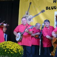 David Parmley & Cardinal Tradition at the Nothin' Fancy Bluegrass Festival - photo © Bill Warren