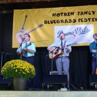 Larry Stephenson Band at the Nothin' Fancy Bluegrass Festival - photo © Bill Warren