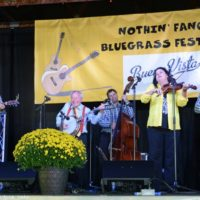 Little Roy and Lizzy Show at the Nothin' Fancy Bluegrass Festival - photo © Bill Warren