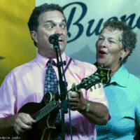 Brenda Lawson and Larry Stephenson at the Nothin' Fancy Bluegrass Festival - photo © Bill Warren