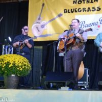 Junior Sisk at the 2018 Nothin' Fancy Bluegrass Festival - photo © Bill Warren