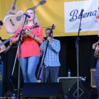 Summer Brooke and the Mountain Faith Band at the 2018 Nothin' Fancy Bluegrass Festival - photo © Bill Warren