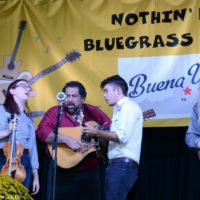 Jeff Scroggins & Colorado at the 2018 Nothin' Fancy Bluegrass Festival - photo © Bill Warren