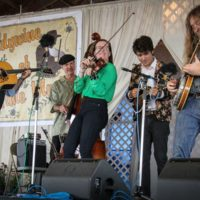 Jeff Scroggins & Colorado at the 2018 Delaware Valley Bluegrass Festival - photo by Frank Baker