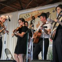 Bill & The Belles at the 2018 Delaware Valley Bluegrass Festival - photo by Frank Baker