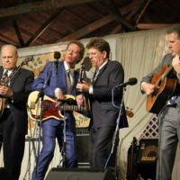 Hot Rize at the 2018 Delaware Valley Bluegrass Festival - photo by Frank Baker