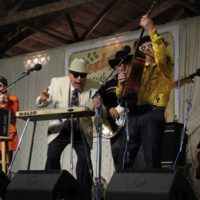 Red Knuckles & The Trailblazers at the 2018 Delaware Valley Bluegrass Festival - photo by Frank Baker