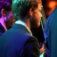 Will Thrailkill with The Trailblazers at the 2018 World of Bluegrass (9/26/18) - photo © Frank Baker