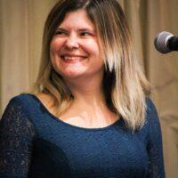 Ashleigh Caudill at World of Bluegrass (9/25/18) - photo © Frank Baker