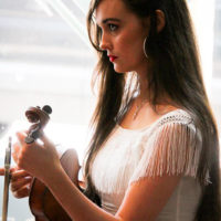 Bethany Kelley at the 2018 World of Bluegrass (9/26/18) - photo © Frank Baker