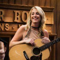 Amanda Cook at World of Bluegrass (9/25/18) - photo © Frank Baker