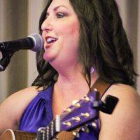 Kim Robins at World of Bluegrass (9/25/18) - photo © Frank Baker