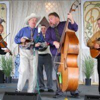 David Davis & The Warrior River Boys at the 2018 Delaware Valley Bluegrass Festival - photo by Frank Baker
