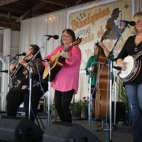 Sister Sadie at the 2018 Delaware Valley Bluegrass Festival - photo by Frank Baker