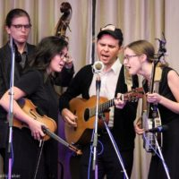 Bill and The Belles at World of Bluegrass (9/25/18) - photo © Frank Baker