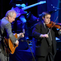 Jeff White and Michael Cleveland perform as Johnny Gimble is inducted into the Country Music Hall of Fame (10/21/18) - photo byTerry Wyatt/Getty Images