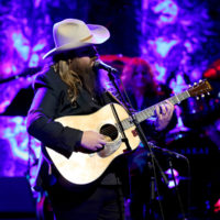 Chris Stapleton performs as Ricky Skaggs is inducted into the Country Music Hall of Fame (10/21/18) - photo byTerry Wyatt/Getty Images