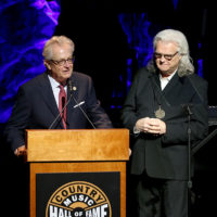 Ricky Skaggs is inducted into the Country Music Hall of Fame by Kyle Young (10/21/18) - photo byTerry Wyatt/Getty Images