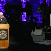 Ricky Skaggs accepts his inducted into the Country Music Hall of Fame (10/21/18) - photo byTerry Wyatt/Getty Images