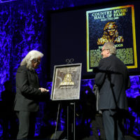 Ricky Skaggs being inducted into the Country Music Hall of Fame (10/21/18) - photo byJason Kempin/Getty Images
