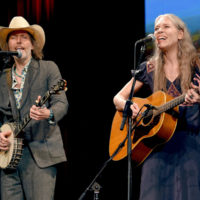 David Rawlings and Gillian Welch at the Stanley Brothers Tribute (Country Music Hall of Fame & Museum 10/24/18) - photo byJason Kempin/Getty Images
