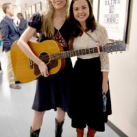 Gillian Welch and Sierra Hull at the Stanley Brothers Tribute (Country Music Hall of Fame & Museum 10/24/18) - photo byJason Kempin/Getty Images