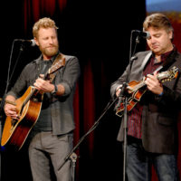 Dierks Bentley and Ronnie McCoury at the Stanley Brothers Tribute (Country Music Hall of Fame & Museum 10/24/18) - photo byJason Kempin/Getty Images