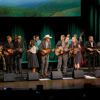 All hands on deck for the grand finale at the Stanley Brothers Tribute (Country Music Hall of Fame & Museum 10/24/18) - photo byJason Kempin/Getty Images