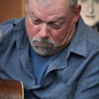 Jeff Autry at the guitar workshop at Wide Open Bluegrass 2018 - photo © Frank Baker