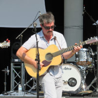 Larry Keel at the 2018 Bristol Rhythm & Roots Reunion - photo by Teresa Gereaux